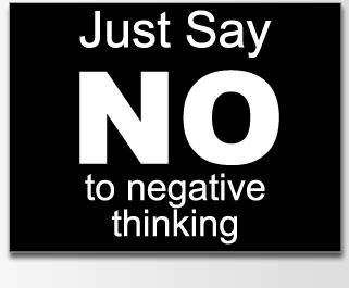 Negativt tänkande